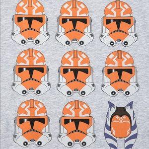 Star Wars Shirts - Star Wars Clone Wars Helmets T-Shirt Our Universe